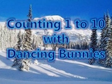 Counting 1 to 10 with Dancing Bunnies