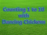 Counting 1 to 10 with Dancing Chickens