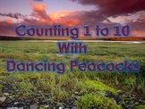 Counting 1 to 10 with Dancing Peacocks