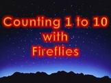 Counting 1 to 10 with Fireflies