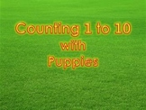 Counting 1 to 10 with Puppies