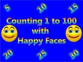 Counting 1 to 100 Activity with Happy Faces