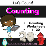 Counting - 1 to 20 - Math Activity Pack