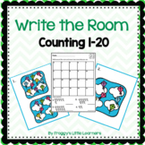 Counting 1 to 20 Write the Room