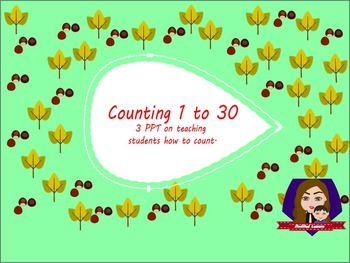 Counting 1 to 30