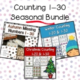 Counting 1 to 30 Activities