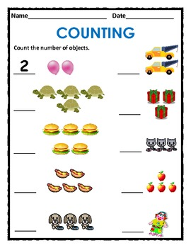 Counting 1 to 5 & 1 to 10 with Animals, Objects, Shapes ...