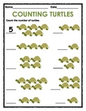 Counting 1 to 5  & 1 to 10 with Animals, Objects, Shapes a