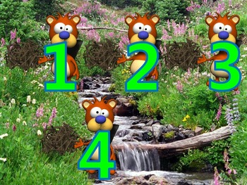 Counting 1 to 5 with Beavers