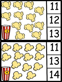 Counting 10 - 20