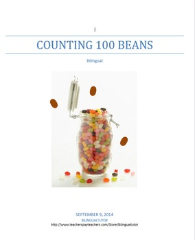 Bilingual Counting 100 Beans/Contar hasta 100 frijoles