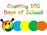Counting 100 Days of School Caterpillar Display
