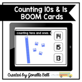 Counting 10s and 1s Kindergarten Boom Cards (teen numbers)