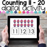 Counting 11-20 - Digital Activity - Distance Learning for