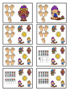 Counting 11-30 - Troll Fun Game  (Spring)