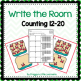 Counting 11 to 20 Write the Room
