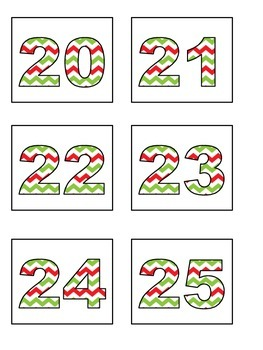 Counting #20-30 Matching Ten Frames