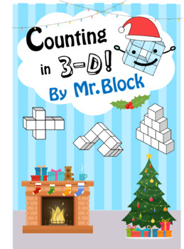 Counting 3D by Mr Block ( Counting Cubes ) ( 3D Shapes count )