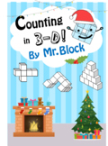 Christmas Counting 3D Geometry / Counting Cubes / 3D Shape