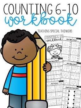 Counting 6-10 Workbook