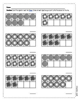 Counting 6 to 10 with Ten Frames - PreK & Kindergarten