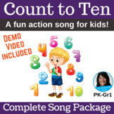 """Counting Action Song 
