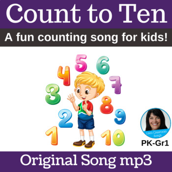 """Counting Action Song   """"Count to Ten""""   Song mp3"""