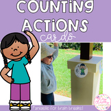 Counting Actions Cards