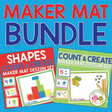Counting Activities Bundle | Maker Mat Counting & Creating Activities