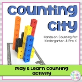 Kindergarten Hands-On Counting Activity