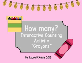 Counting Adapted Book 1-10 for Students with Special Needs