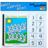 Counting Adapted Book And Activities