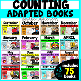 Counting Adapted Books BUNDLE {set of 75 books}
