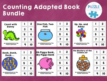 Counting Adapted Books Bundle
