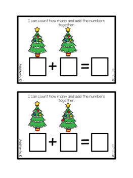 December Counting Adventures: Adding Edition for Task Boxes