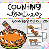 November Counting Adventures: Counting On Edition for Task Boxes