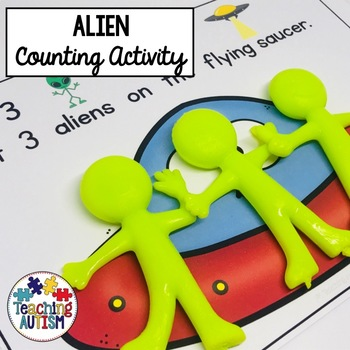 Counting Aliens Math Activity