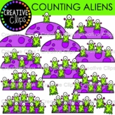 Counting Aliens {Space Clipart}