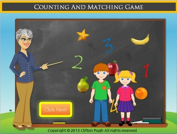 Counting And Matching Game