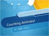 Counting Animals - Kindergarten ESL PPT