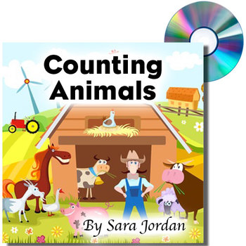 Counting Animals - MP3 Song with Lyrics (Early Learning)