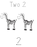 Counting Animals numbers 1-5