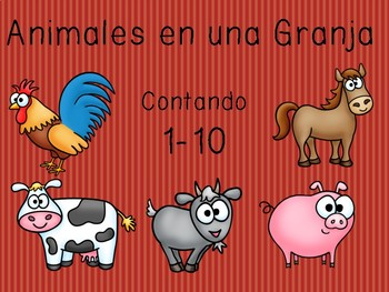 Counting Animals on a Farm in Spanish