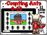 Counting Ants at a Picnic 0-10 ~ BOOM Cards ~ Distance Learning