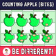 Counting Apple Clipart (Bites)