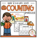 """Counting Apple and Pumpkin Seeds """"No Prep"""""""