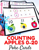 Counting Apples 0 to 20 Poke Game