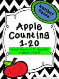 Counting Apples 1-20 Number Sense
