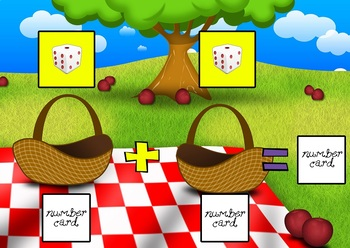 Counting Apples, The Best Counting Apple Activity Game (Numbers 1-12)