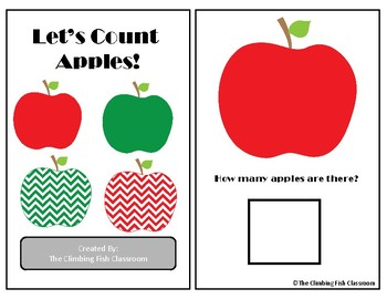 Counting Apples Adapted Book